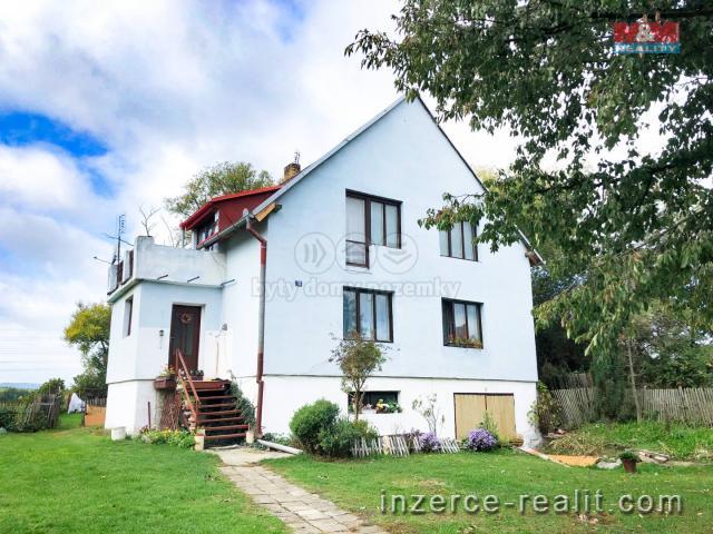 Prodej, rodinný dům, 7+1, 973 m2, Hlubany u Podbořan