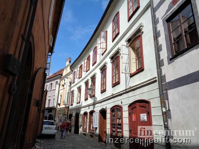Prodej památky 1100 m2 Dlouhá, Český Krumlov Vnitřní Město