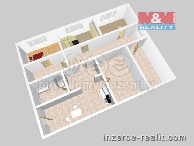Prodej, atypický byt, 170 m², Kladno, ul. Vrapická