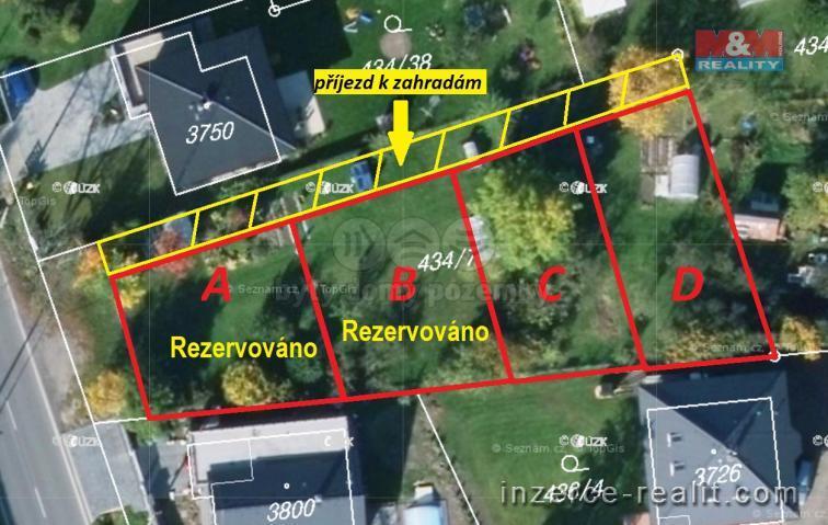 Pronájem, zahrada, Hradec Králové - Nový Hradec Králové