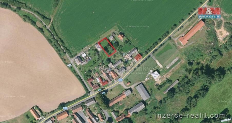Prodej, pozemek k bydlení, 755m2, Merklín - Kloušov