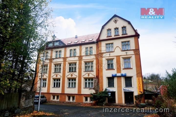 Prodej, bytový dům, 672 m2, Vejprty, ul. Kostelní nám.