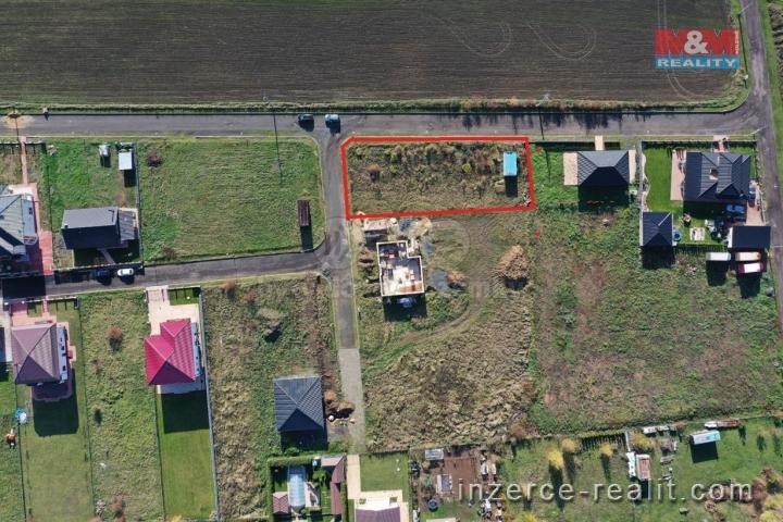 Prodej, pozemek k bydlení, 1001 m2, Teplice, Srbice