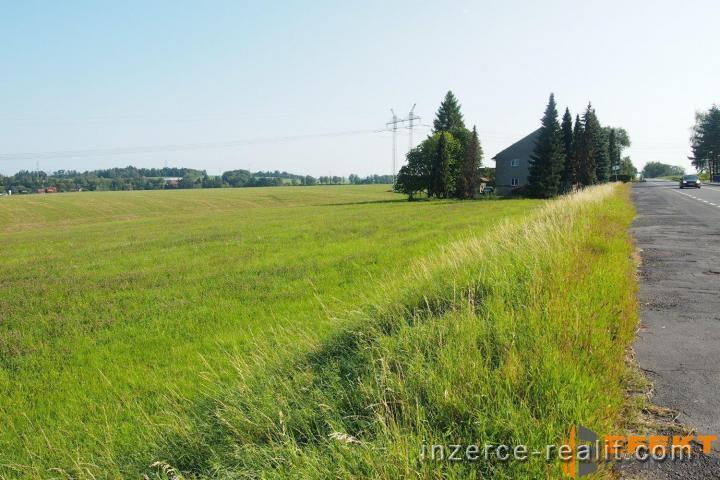 Prodej stavebních pozemků v Dolních Tošanovicích o výměrách 912 m2 až 2944 m2