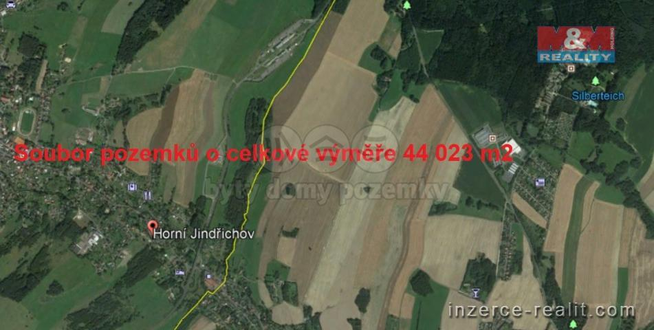 Prodej, louka, 44023 m², Horní Jindřichov