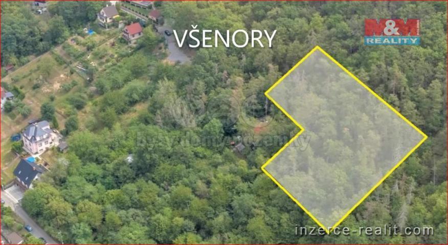 Prodej, pozemek k zastavění, 3110 m², Všenory