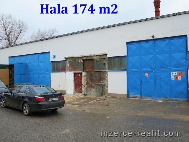 Pronájem výrobně-skladové haly 174 m2, BEROUN