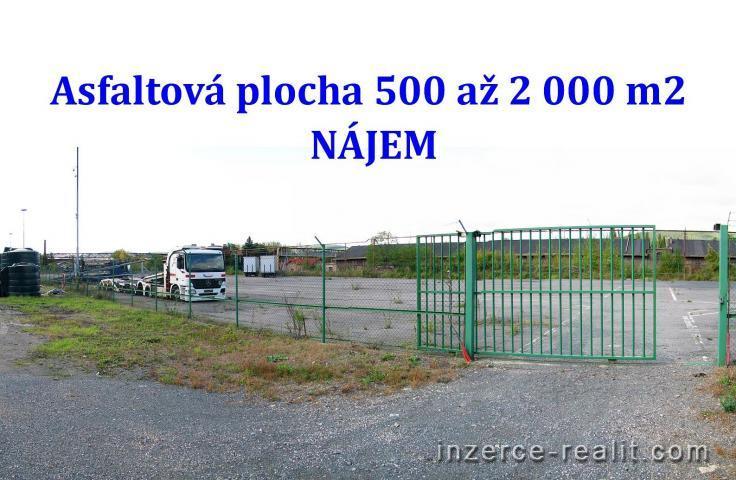 NÁJEM asfaltové plochy 500 až 2000 m2, Králův Dvůr, Exit D5