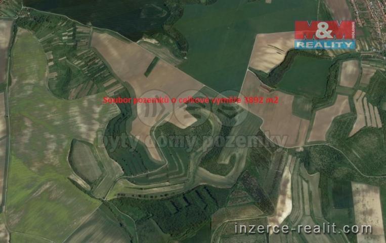 Prodej, ovocný sad, 3892 m², Uherčice