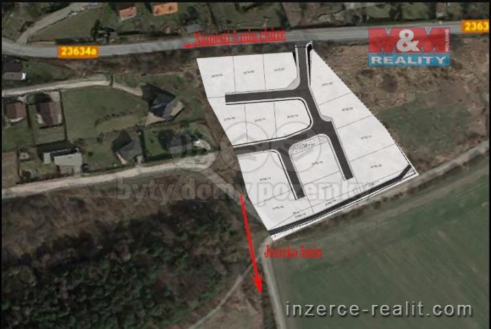 Prodej, pozemek k bydlení, Libušín