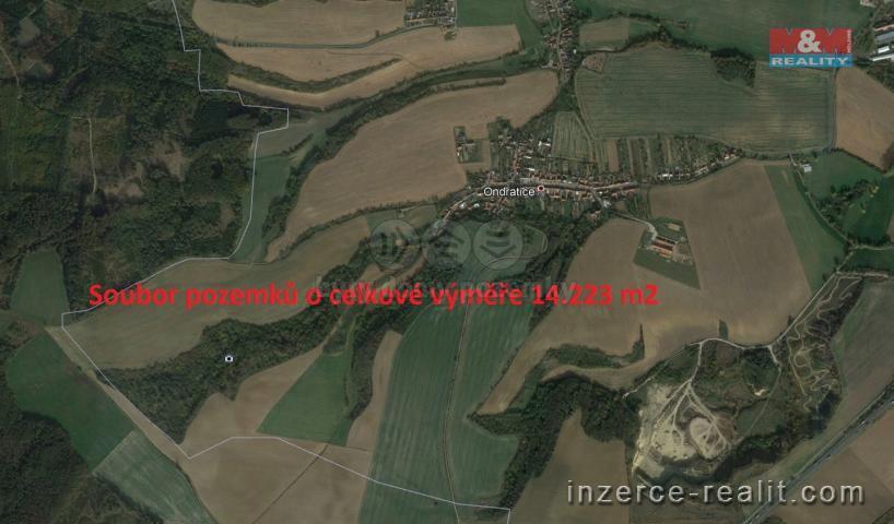 Prodej, pole, 14223 m2, Ondratice