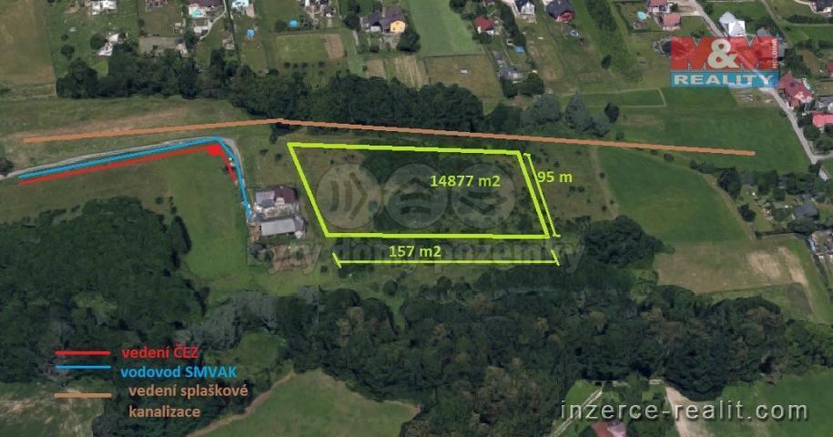 Prodej, stavební pozemek, 14877 m2, Horní Bludovice, Karviná