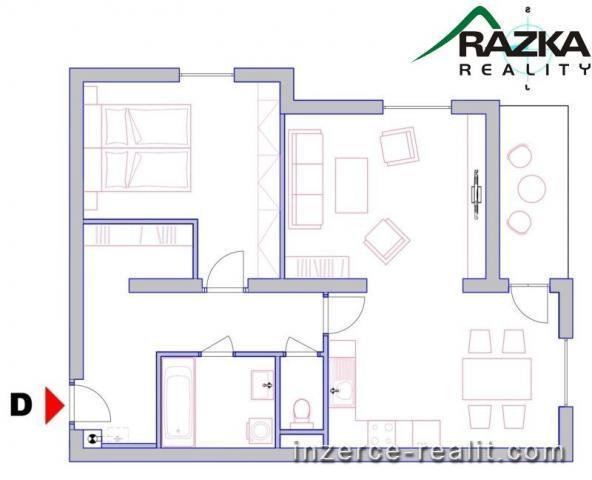 2+1 v novém bytovém domě v Klatovech