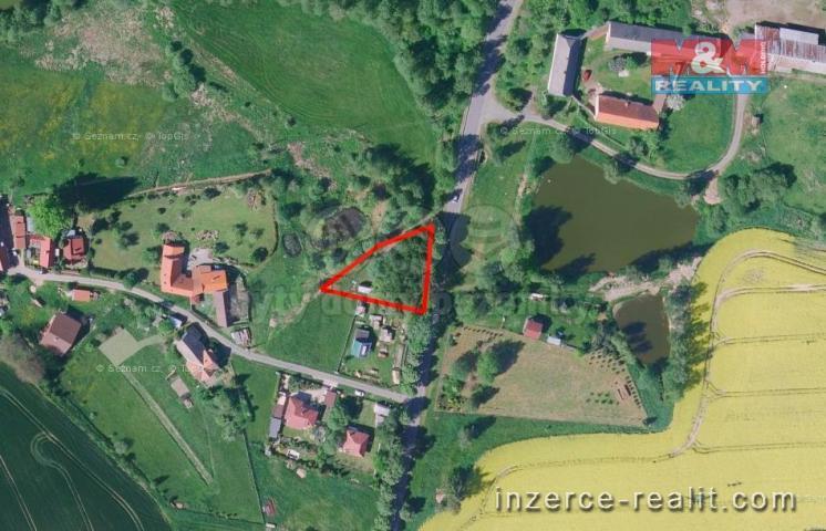 Prodej, pozemek k bydlení, 945 m², Běleč