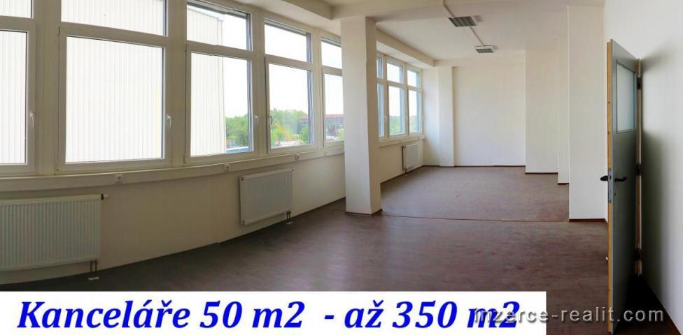 Moderní kanceláře 50 m2 - až 350 m2, cena: 130,-Kč/ m2, P10 Hostivař,