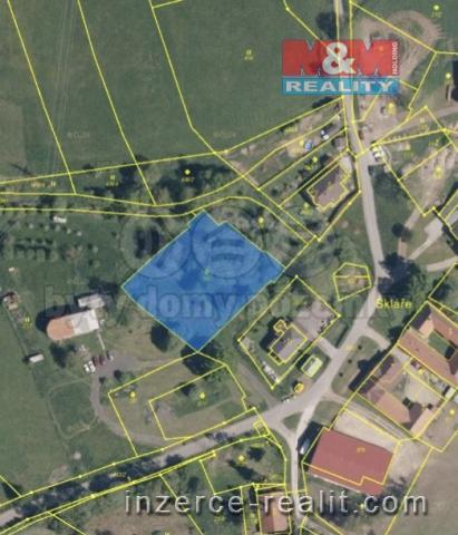 Prodej, stavební pozemek, 2484 m2, Vimperk