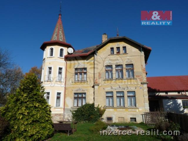 Prodej, rodinný dům (3 byty), Dobrná, okr. Děčín