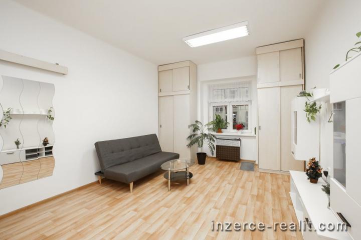 Praha, krásný zařízený byt 2+1 k pronájmu, 50m2, ulice Schnirchova, Holešovice