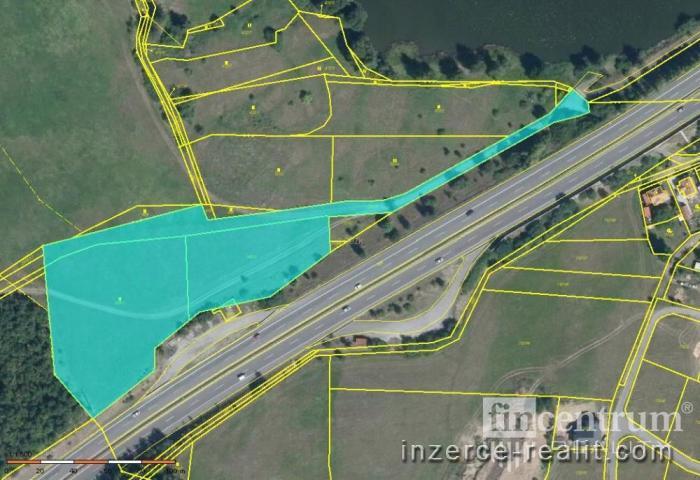 Prodej komerčního pozemku 12829 m2, Stará Huť