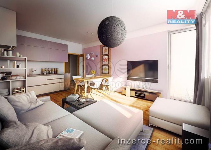Prodej, byt 2+kk, 58 m², Praha 9 - Letňany