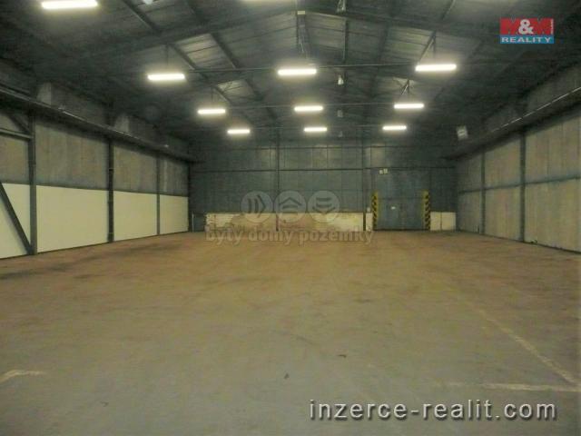 Pronájem, sklad, 648 m², Krnov, ul. Červený dvůr