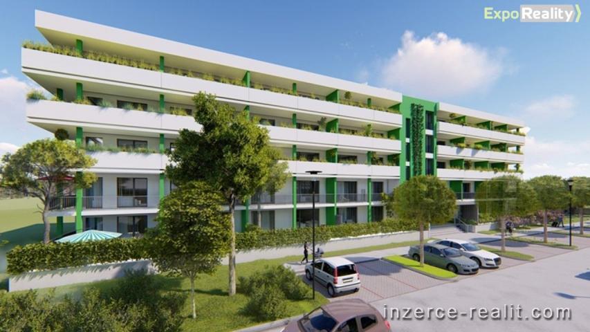 Prodej bytu 1+kk s terasou  až 12 m2 II. etapy Rezidence Bartoška, bytový dům ''B''