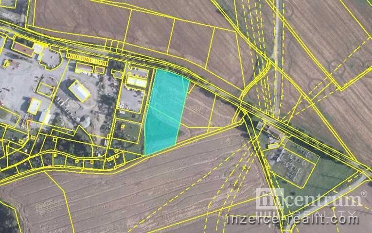 Prodej komerčního pozemku 7992 m2 Kosovská, Jihlava