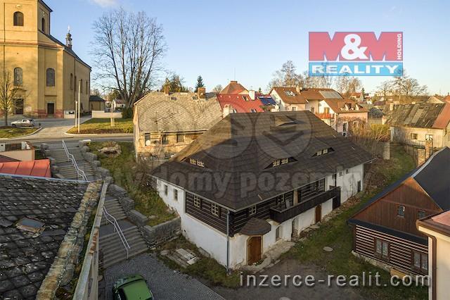 Prodej, historický objekt, 351 m2, Hlinsko, ul. Jungmannova