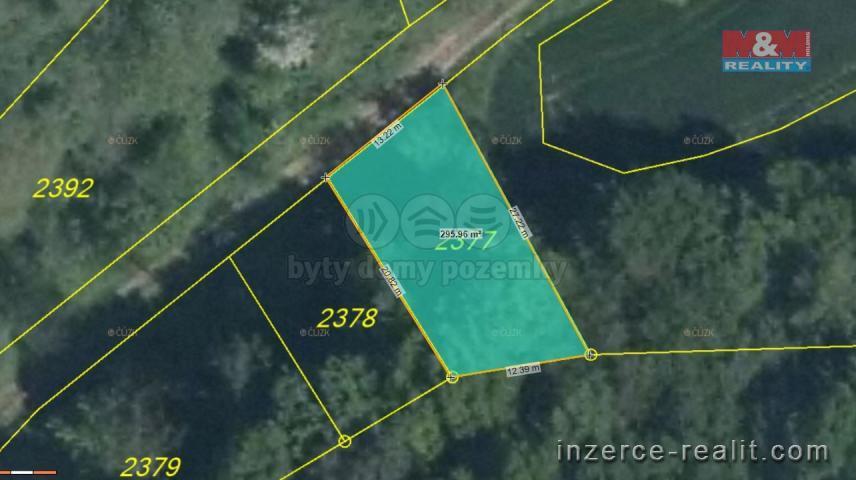Prodej, ostatní pozemky, 292 m2, Nebužely, Mělník