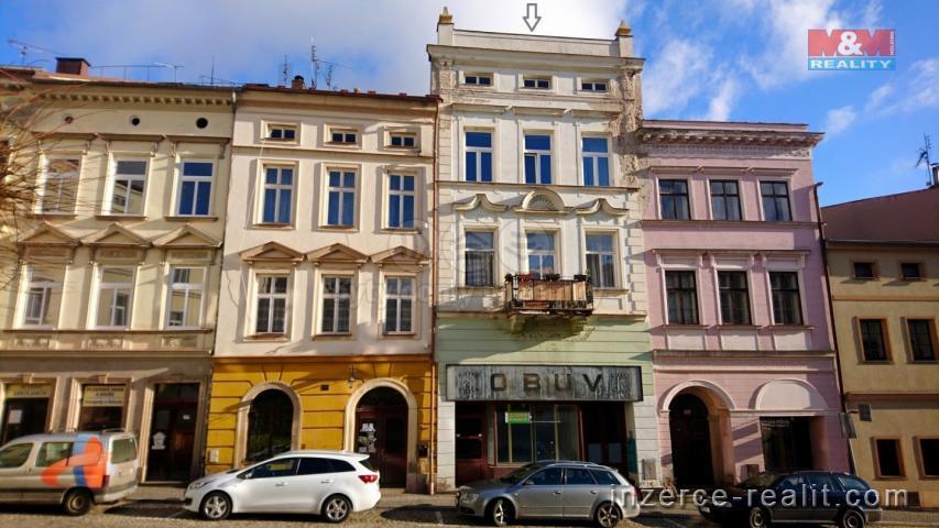 Prodej, nájemní dům, Broumov, ul. Malé náměstí