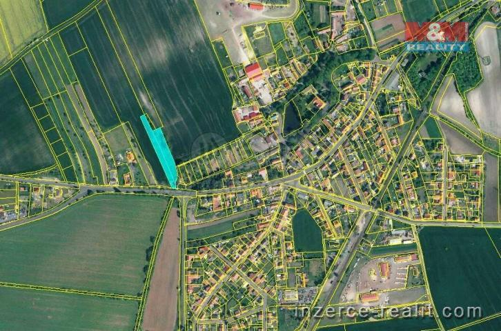 Prodej, pozemek k bydlení, 3884 m², Jimlín