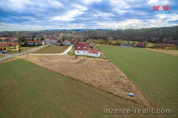 Prodej, pozemek, 1218 m2, Horní Poříčí