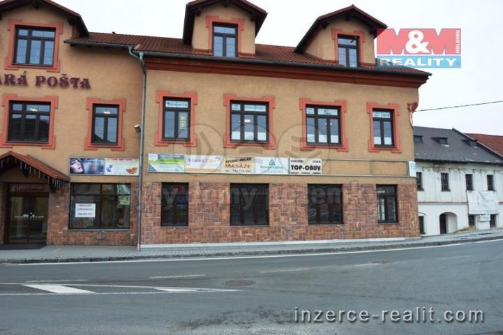 Pronájem, obchod a služby, 107 m², Jablunkov, ul. Nádražní