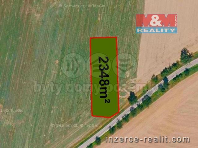 Prodej, pole, 2348 m², Háj ve Slezsku