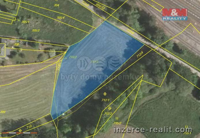 Prodej, pozemek, 2086 m2, Trhový Štěpánov