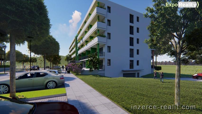 Prodej bytu 2+kk s terasou 16,87 m2 v novostavbě II. etapy Rezidence Bartoška, bytový dům ''B''