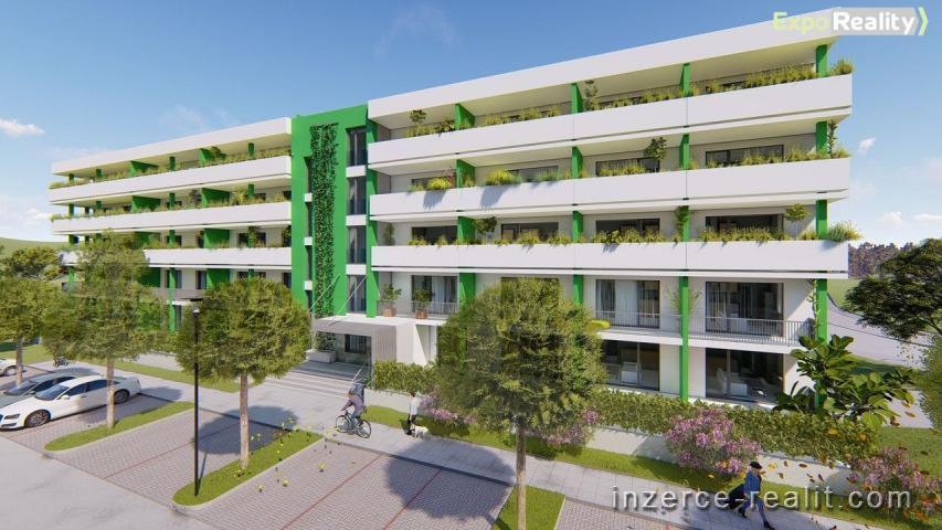 Prodej bytu 2+kk s terasou 19,23 m2 s předzahrádkou, II. etapa Rezidence Bartoška, bytový dům ''B''