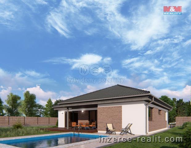 Prodej, rodinný dům 4+kk, Lužice, s pozemkem 1000 m2