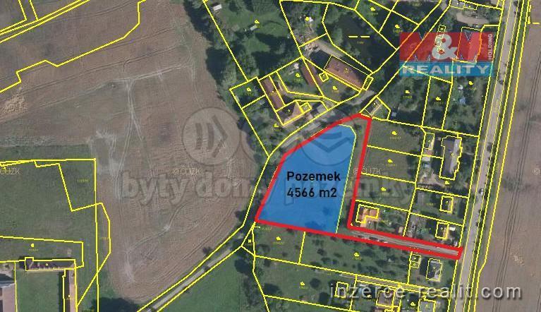 Prodej, pozemek k bydlení, 4566 m2, Zbiroh