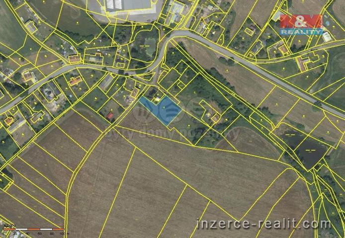 Prodej, pozemek k bydlení, 1664 m², Nové Lublice