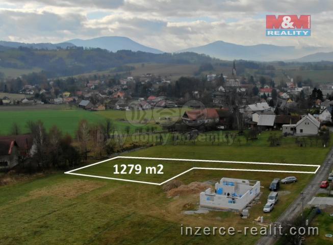 Prodej, pozemek k bydlení, 1279 m2, Janovice