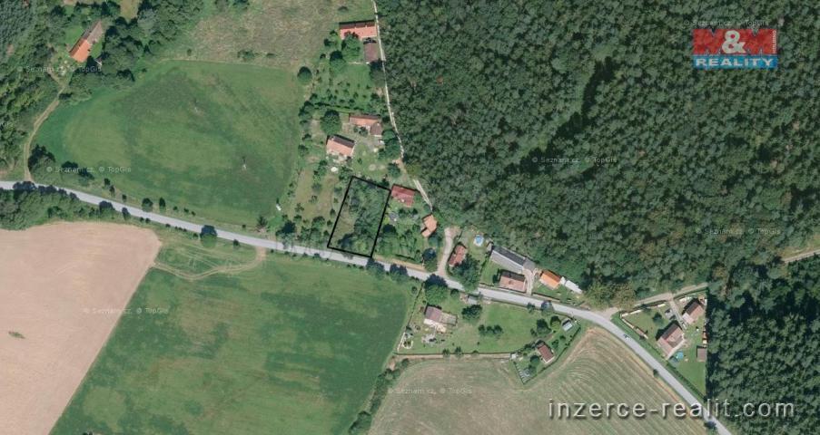 Prodej, zahrada, 1271 m², Švihov