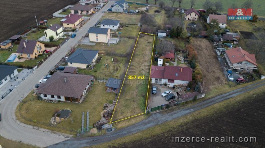 Prodej, pozemek k bydlení, 857 m², Máslovice, ul. Dolánecká