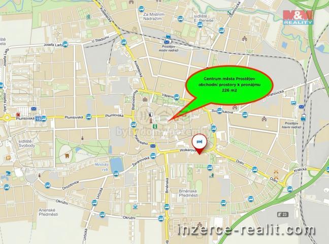 Pronájem, obchodní objekt, 226 m², Prostějov