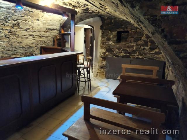 Vinárna - středověký sklep, 120 m2, Prachatice