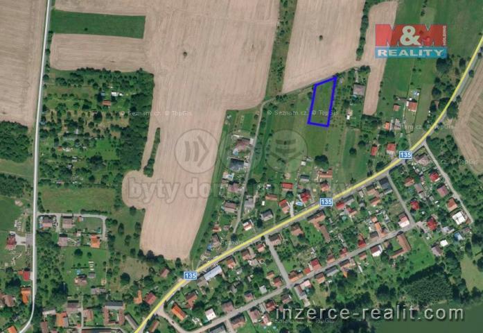 Prodej, pozemek, 1301 m2, Tučapy u Soběslavi
