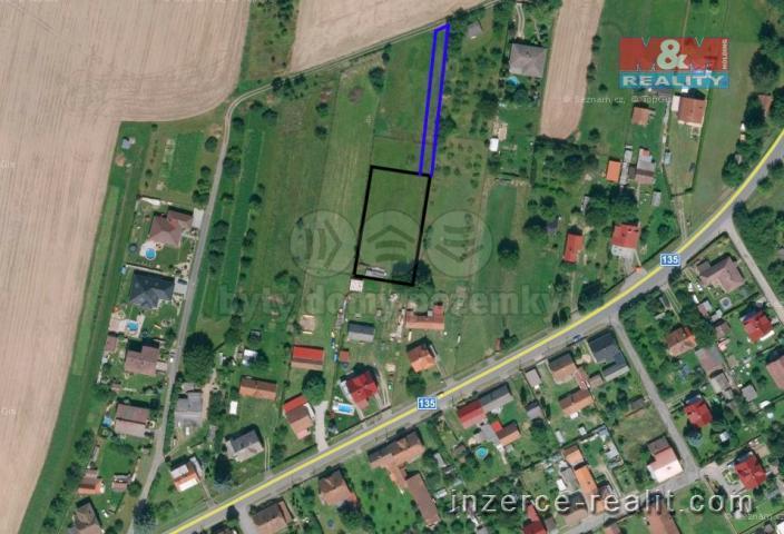 Prodej, pozemek k bydlení, 1364 m², Tučapy