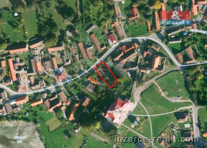 Prodej, pozemek, 768 m², Myslkovice