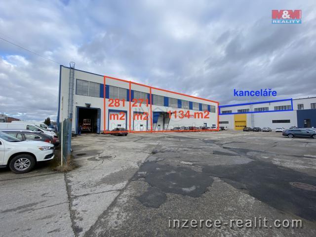 Pronájem, výrobní objekt, 1586 m², Planá nad Lužnicí