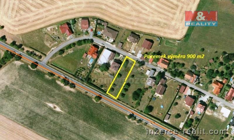 Prodej, pozemek, 900 m2, Podbřezí u Dobrušky